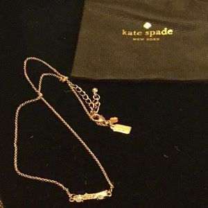 NWBag Kate Spade Car Necklace Sparkle Dream